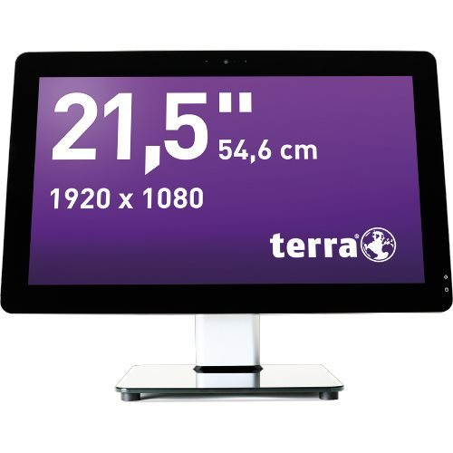 TERRA PC-BUSINESS 1009647 - All-in-One mit Monitor, Komplettsystem - Core i5 3,5 GHz - RAM: 8 GB - HDD: 250 GB NVMe, Serial ATA