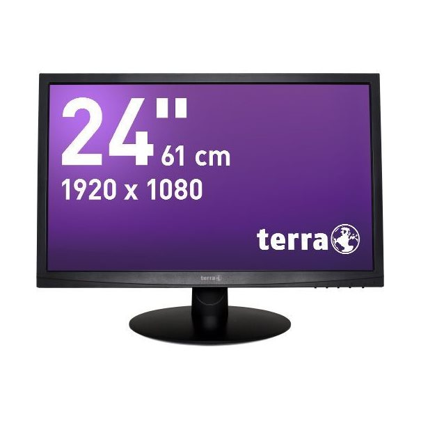 TERRA LED 2412W schwarz DVI GREENLINE PLUS