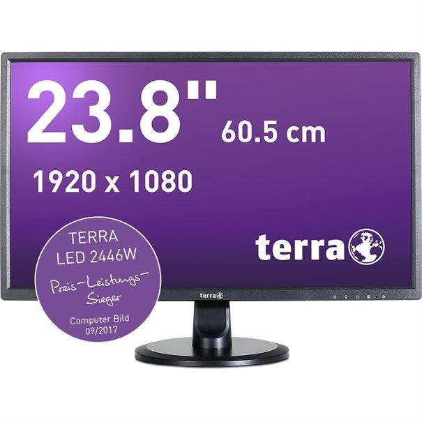 TERRA LED 2446W schwarz HDMI/DVI GREENLINE PLUS