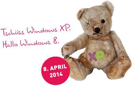 Tschüss Windows XP - (c) Wortmann AG