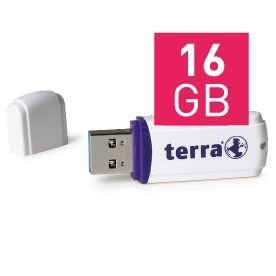 TERRA USThree USB3.0 16GB 80/10 white