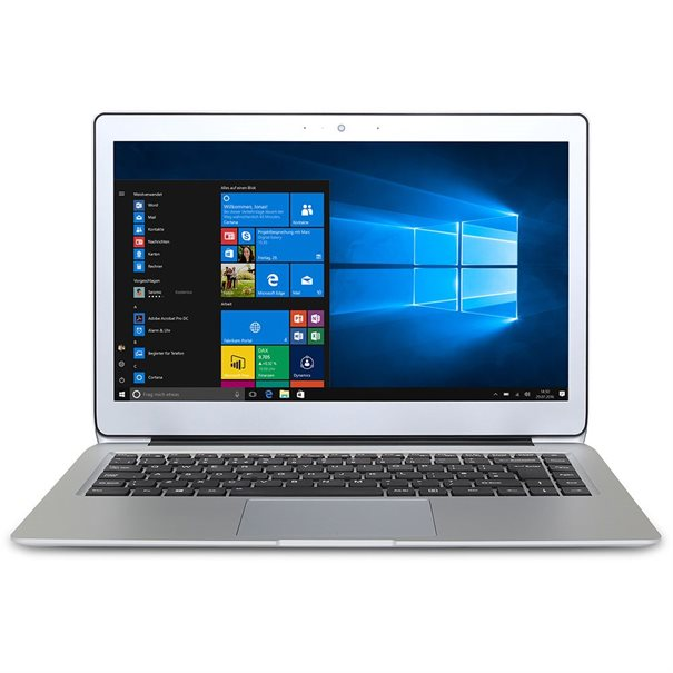"14"" FHD Display (1920x1080); CPU Core i5-7Y54; ;  8GB DDR3L RAM; M.2 SSD 256GB ;  1x USB 3.0; 1x USB 3.0 TypC; 2x USB 2.0; ;  MicroHDMI; ;  MicroSD Cardreader ;  Headphone; Webcam; Bluetooth; ;  WLAN 802.11 a/b/g/n/ac; ;  beleuchtete Tastatur ;  Windows 10 Pro 64-Bit ;  Microsoft? Office Trial ;  6 Monate Garantie auf Akku"