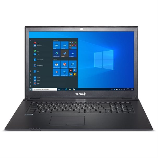 "17.3"" FHD (1920x1080) Non-Glare 16:9 LED-Display ;  Intel? Core? i3-7020U Processor (3M Cache; 2,3GHz) ;  1x 4GB DDR4 SO-DIMM (1x Sockel frei) ;  240 GB SATA-SSD; DVD?RW SATA-ODD; ;  Intel? HD Graphics 620; ;  WLAN + Bluetooth 4.0; ;  1x USB 3.0 Type C; 1 x USB 3.0; 2x USB 2.0; VGA; ;  HDMI; Gigabit-LAN; beleuchtete Tastatur; ;  Mic-In; Headphone-Out; SD/MMC - Cardreader; ;  Webcam; DC-IN (19V); Kensington-Lock; ;  LTE vorbereitet; Netzteil 40W; Akku 44Wh; ;  Windows 10 Home ;  6 Monate Garantie auf Akku ;  Gr??e: 418.5 x 287 x 26.4 mm / Gewicht: 2.5 Kg"