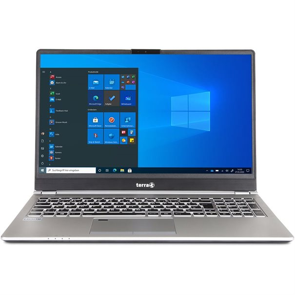 "15.6"" FHD (1920x1080) Non-Glare 16:9 LED-Display ;  Intel? Core? i5-8265U Processor (6M Cache; ;  bis zu 3.9 GHz) ;  1x 8GB DDR4 SO-DIMM (1x Sockel frei) ;  256 GB NVME SSD; ;  Intel? UHD Graphics 620; ;  Intel? WLAN AC 9560 + Bluetooth 5; ;  1x USB 3.1 Type C (Thunderbolt); 2 x USB 3.0; ;  1 x USB 2.0; 1 x Mini DisplayPort 1.2; HDMI; LAN; ;  Mic-In; Headphone-Out; SD/MMC - Cardreader; ;  Webcam; DC-IN (19V); Kensington-Lock; ;  Netzteil 40W; Akku 44Wh; ;  Windows 10 Pro ;  6 Monate Garantie auf Akku ;  Gr??e: 360 x 245 x 19.9 mm / Gewicht: 1.7 kg"
