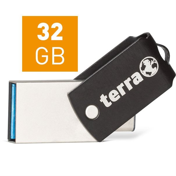 TERRA USThree A+C USB3.1  32GB 180/10 black