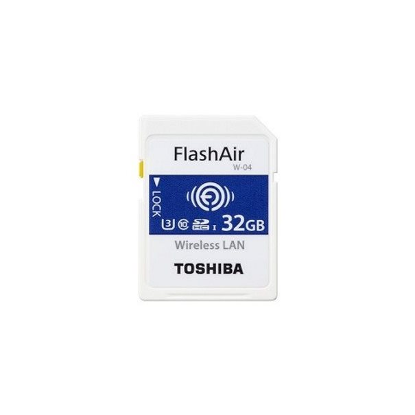 Toshiba SD-Card FlashAir W-04 32GB