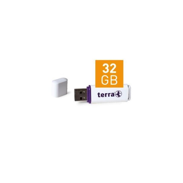 TERRA USBee USB2.0 32GB 14/4 white