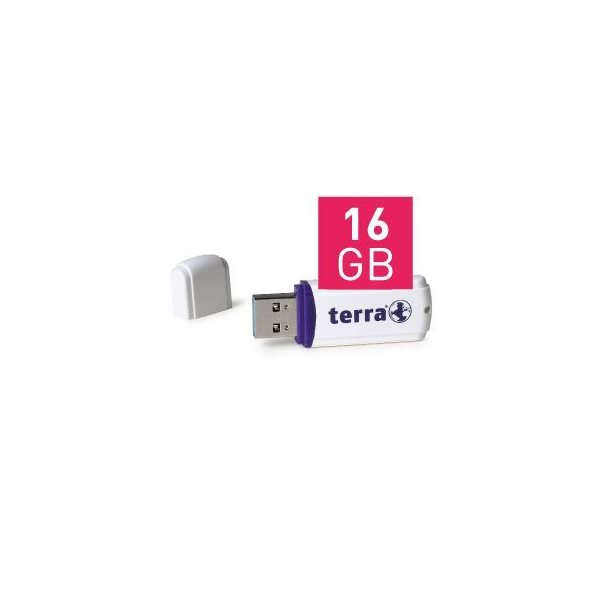 TERRA USThree USB3.0 16GB 80/10 white