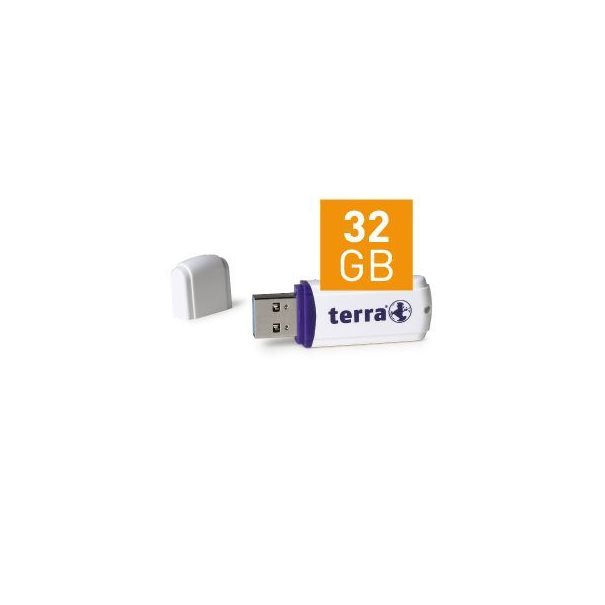 TERRA USThree USB3.0 32GB 80/20 white