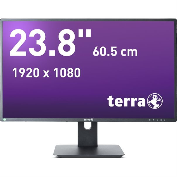 TERRA LED 2456W PV schwarz DP, HDMI GREENLINE PLUS