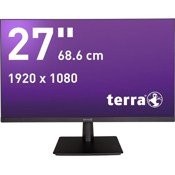 LCD Computer kaufen Pforzheim Wortmann TERRA LED 2763W PV black DP/HDMI GREENLINE PLUS