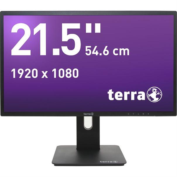 TERRA LED 2256W PV V2 schwarz DP, HDMI GREENLINE PLUS