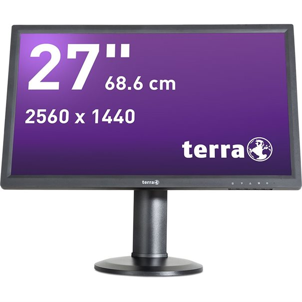 TERRA LED 2765W PV schwarz DP/HDMI GREENLINE PLUS