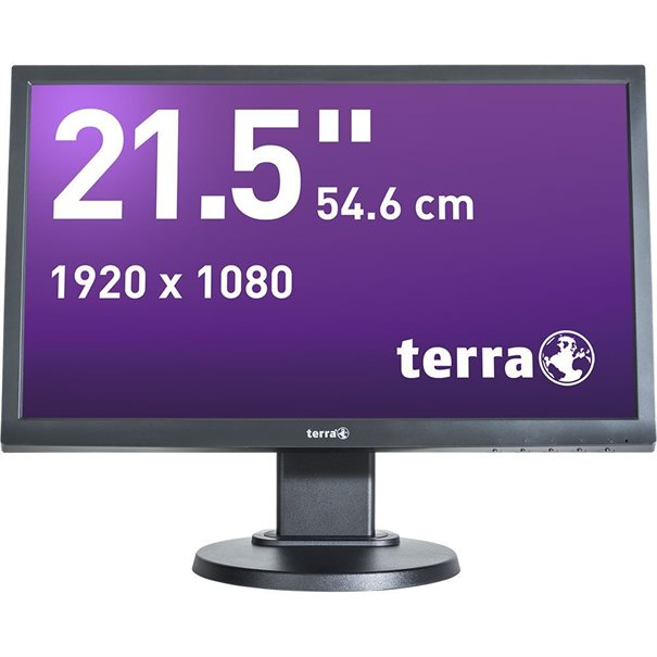 TERRA LED 2255W PIVOT schwarz HDMI GREENLINE PLUS