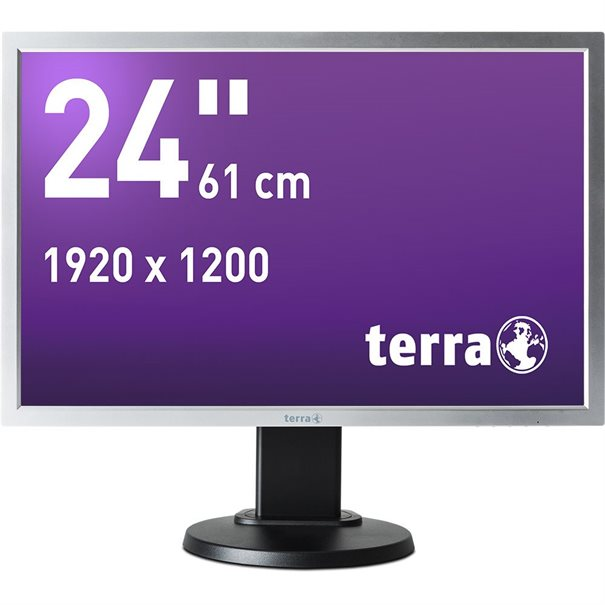 TERRA LED 2458W PV schwarz DP GREENLINE PLUS