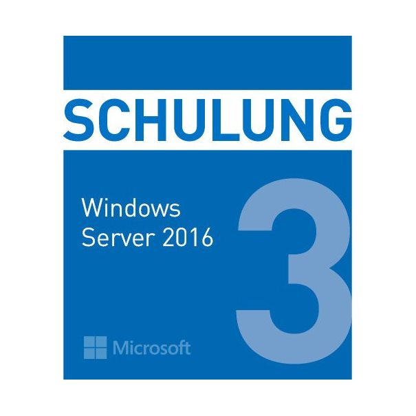 Schulung MS WindowsServer 2016