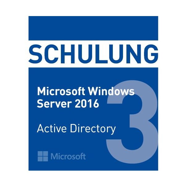 Schulung MS Win2016 Active Directory