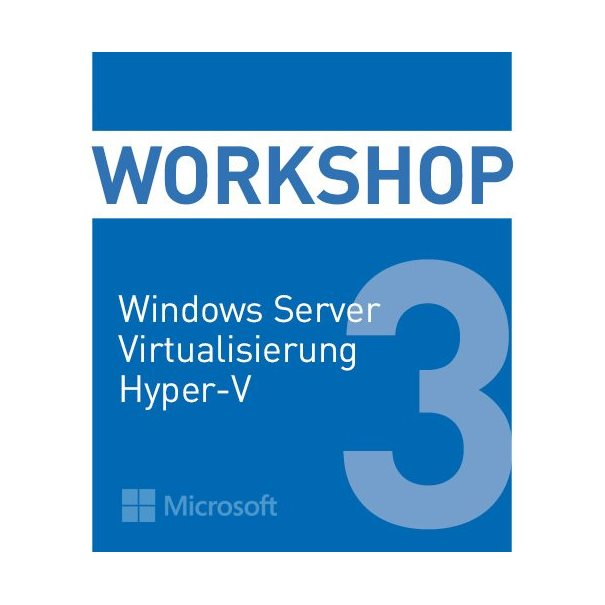 Schulung MS SystemCenter 2016 HyperV MOC 20745