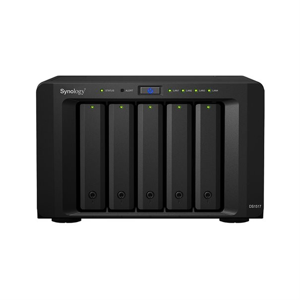 Synology NAS Disk Station DS1517 (5 Bay) 2GB