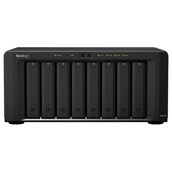 Synology NAS Disk Station DS1817 (8 Bay) 4GB