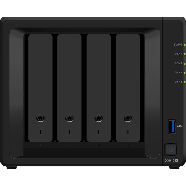Synology NAS Disk Station DS918+ (4 Bay)