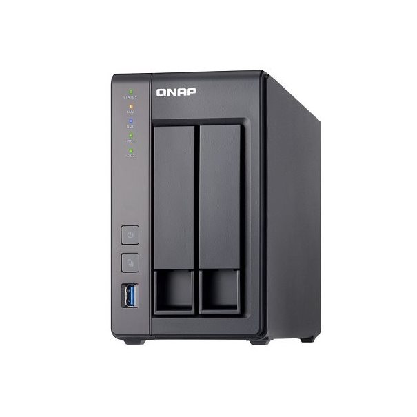 QNAP NAS TS-251+-2G (2 Bay) 2GB