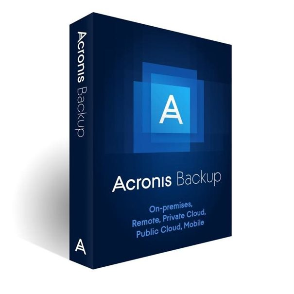 Acronis VU Backup 12.5 Workstation AAP ESD 5-19
