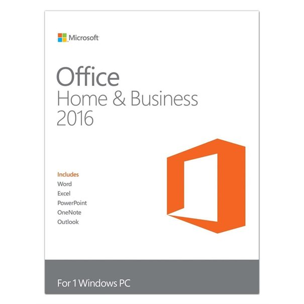 MS Office 2016 Home & Business [DE] PKC2