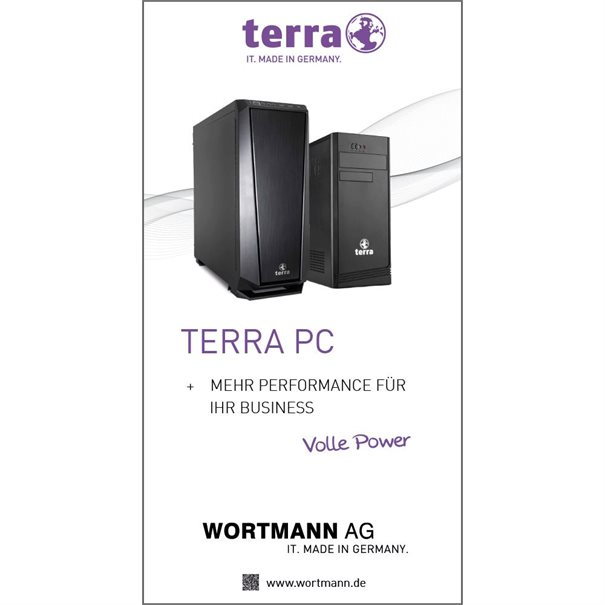 TERRA PC (1 x 2 m) Roll-Up
