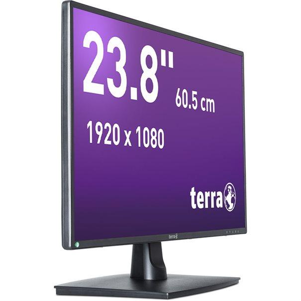 TERRA LED 2456W schwarz DP, HDMI GREENLINE PLUS