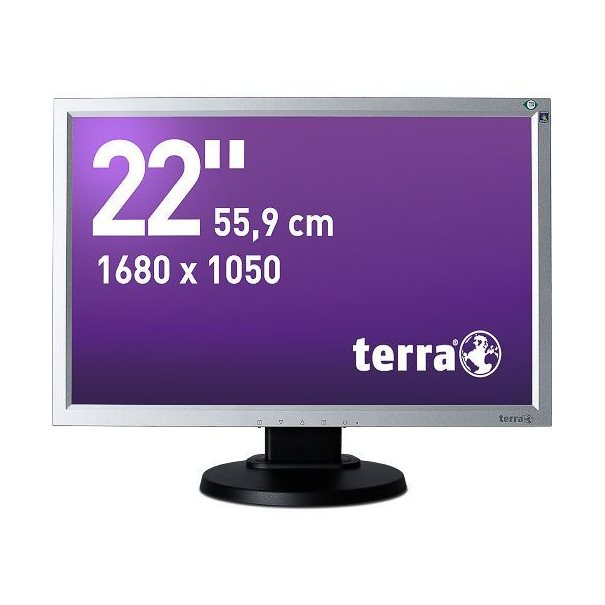 TERRA LED 2230W PV silber/schw DVI GREENLINE PLUS