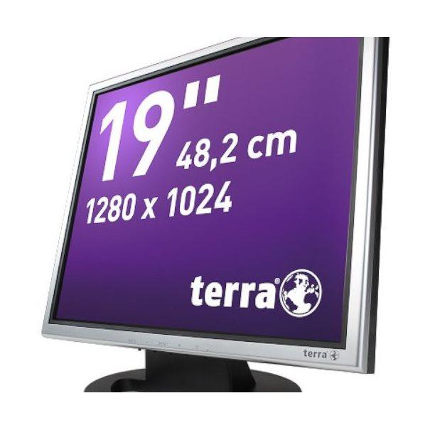 TERRA LED 1940 silb/schw DVI GREENLINE PLUS
